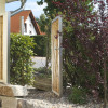 Gartentor Bambus Edelstahl