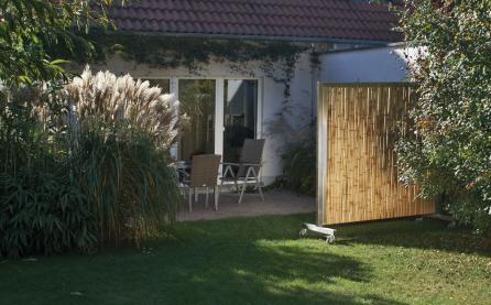 Bambus Sichtschutz, beweglich, mobil