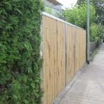 Bambuszaun Edestahl Sichtschutz Modul5