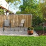 Bambus Terrasse Sichtschutz