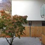 Architektur Sichtschutz Windfang Bambus