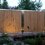 Gartenteich Sichtschutz Bambus