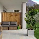 Bambuszaun Lounge