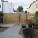Sichtschutzwand und Gartenabtrennung aus Bambus Modul5